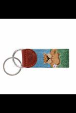 Smathers & Branson S&B Needlepoint Key Fob, Gopher Golf