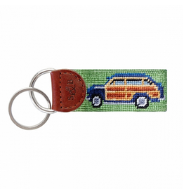 Smathers & Branson S&B Needlepoint Key Fob, Woody