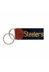 Smathers & Branson S&B Needlepoint Key Fob, Pittsburgh Steelers