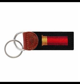Smathers & Branson S&B Needlepoint Key Fob, Shotgun Shell