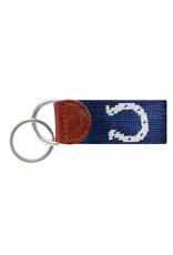 Smathers & Branson S&B Needlepoint Key Fob, Indianapolis Colts