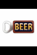 Smathers & Branson S&B Needlepoint Bottle Opener, Beer