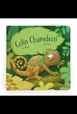 Jellycat Book, Colin Chameleon Board Book