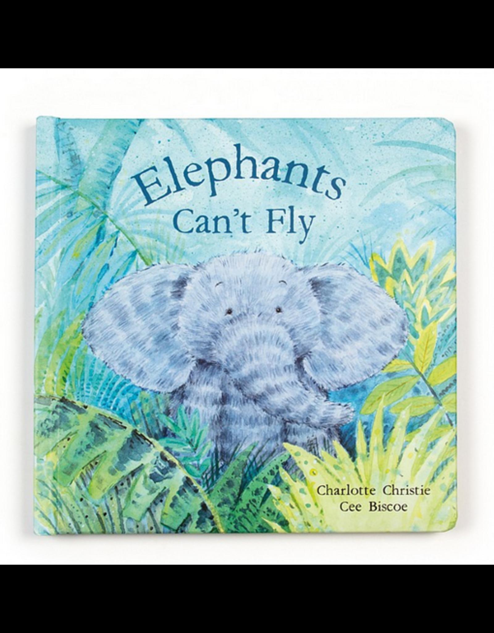 Jellycat Book, Elephants Can't Fly