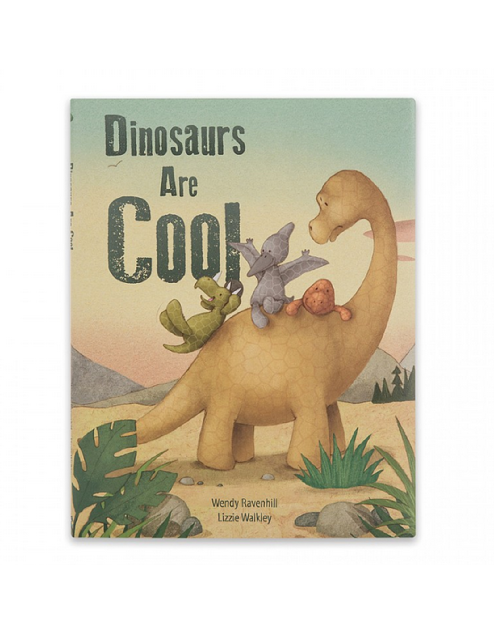 Jellycat Book, Dinosaurs are Cool