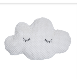 Sleepy Cloud Pillow, white