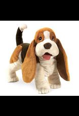 Bassett Hound Puppet