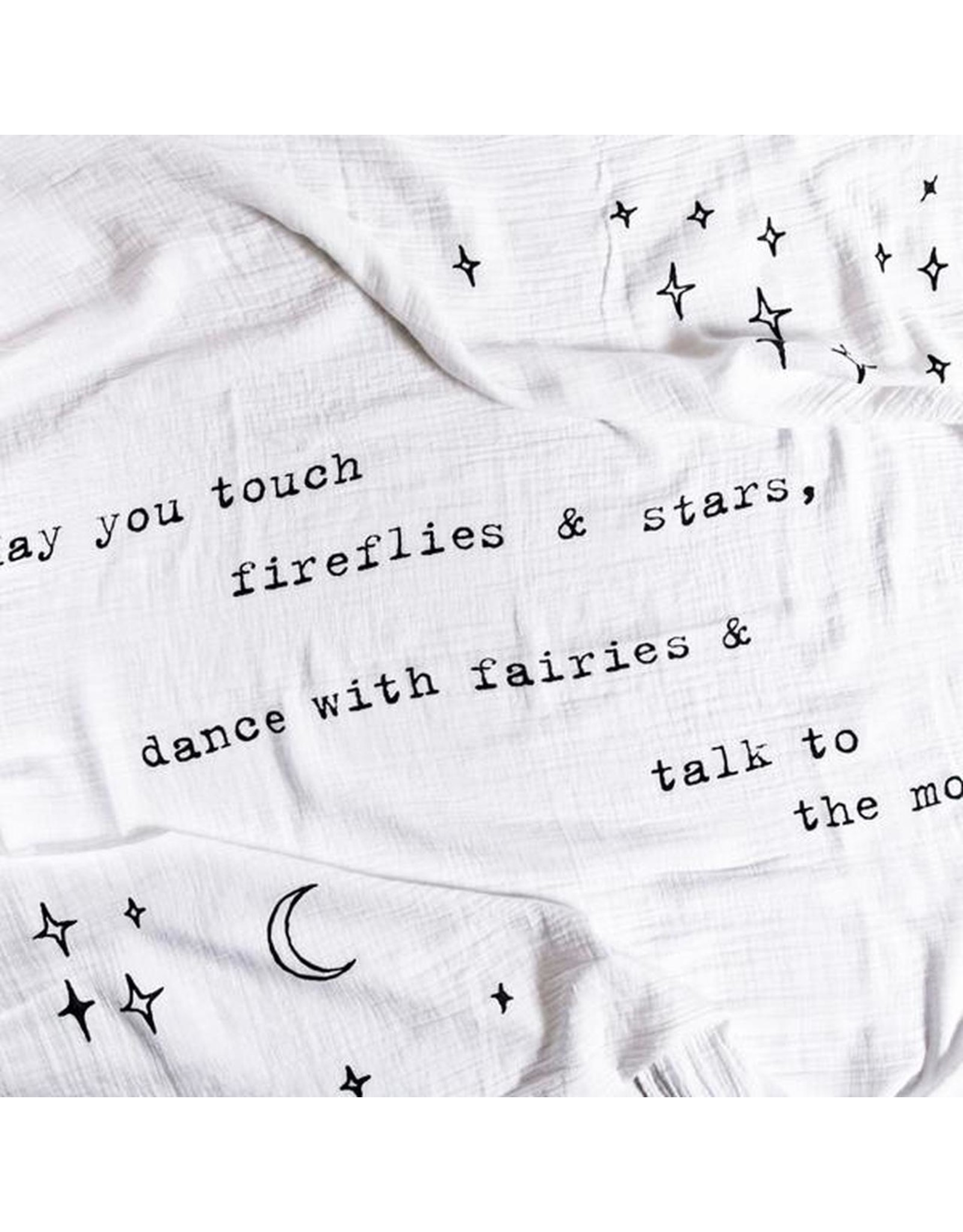 Swaddle Blanket, May You Touch Fireflies