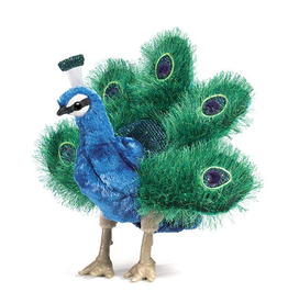 Small Peacock Puppet