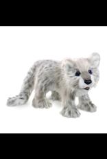 Snow Leopard Cub Puppet