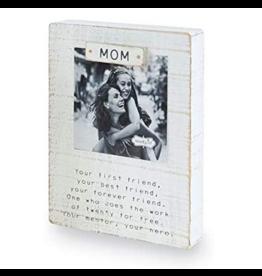 Mud Pie Magnetic Block Frame, Mom