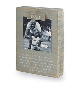 Mud Pie Magnetic Block Frame, Dad