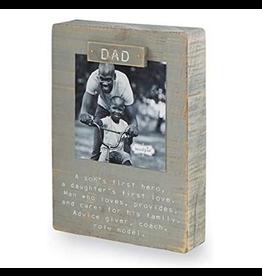 Mud Pie Magnetic Block Frame, Dad