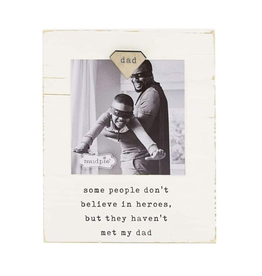 Mud Pie Magnetic Wood Frame, Dad
