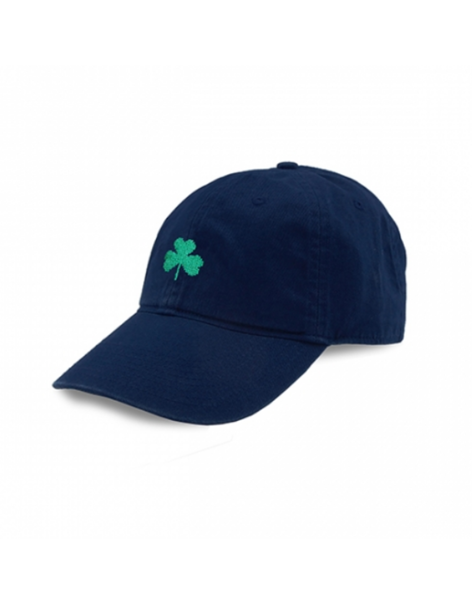 Smathers & Branson S&B Needlepoint Ball Hat, Shamrock Hat on Navy