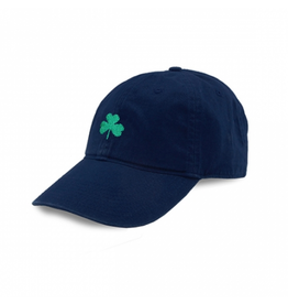 Smathers & Branson S&B Needlepoint Ball Hat, Shamrock Hat on Navy