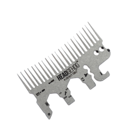 Headgehog Wallet Comb/Tool