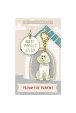 Pet/Owner Charm Set, Poodle