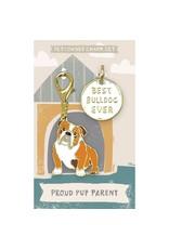 Pet/Owner Charm Set, Bulldog