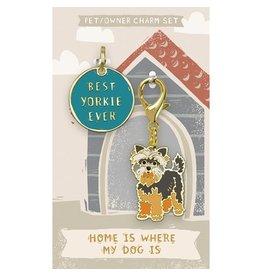 Pet/Owner Charm Set, Yorkie