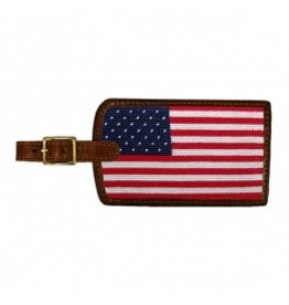 Smathers & Branson S&B Luggage Tag, Big American Flag