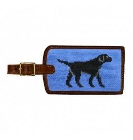 Smathers & Branson S&B Luggage Tag, Black Lab, blueberry