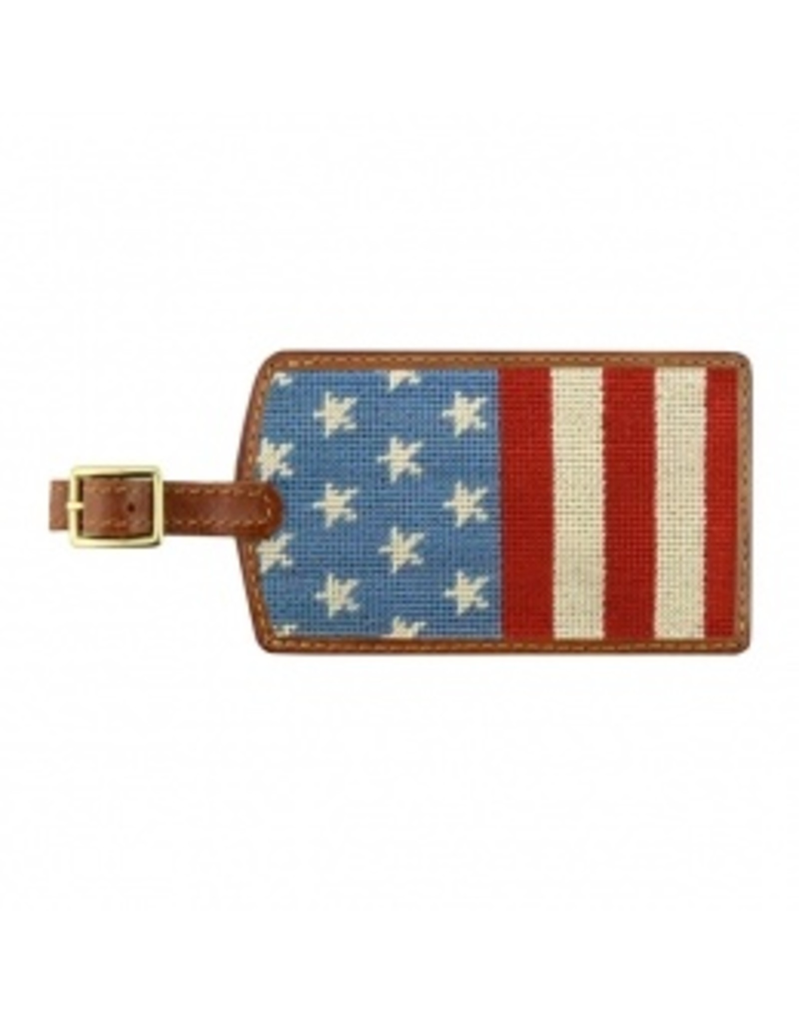 Smathers & Branson S&B Luggage Tag, Stars & Stripes