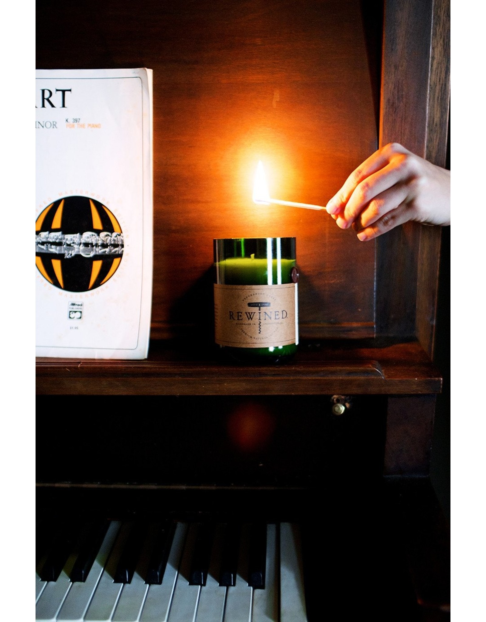 Rewined Candle - Pinot Noir