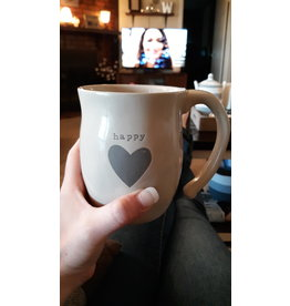 Happy Heart Mug w/Happiness bag