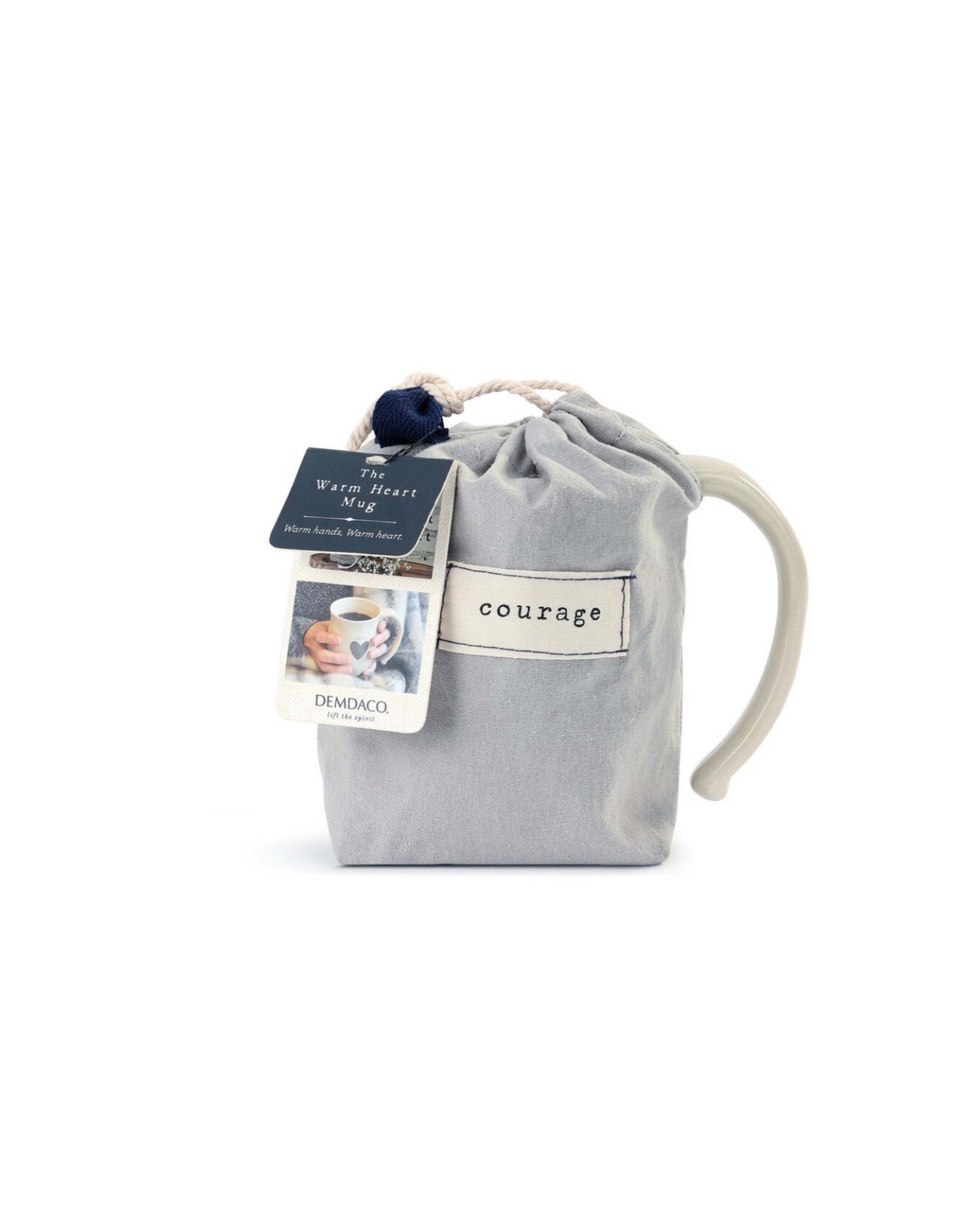 Brave Heart Mug w/Courage bag