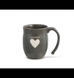 Grandpa Heart Mug w/Grandpa Bag
