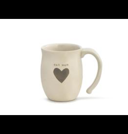 Warm Heart Mug, Cat Mom w/Bag