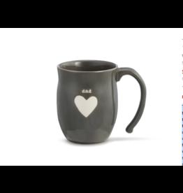 Dad Heart Mug w/Dad Bag