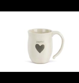 Joyful Heart Mug w/Joyful bag