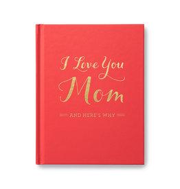 I Love You Mom book