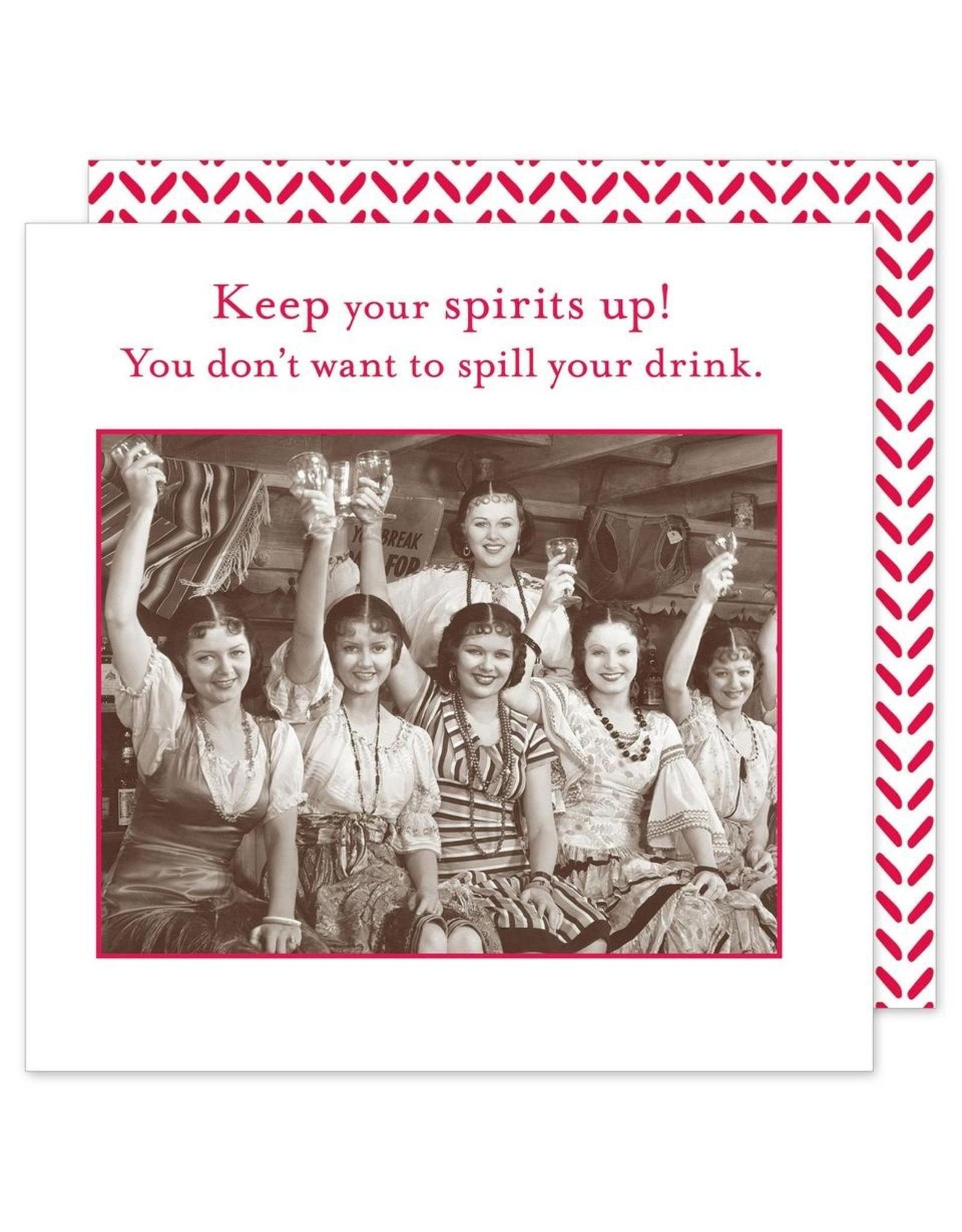 Shannon Martin Keep Your Spirits Up! Napkins