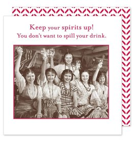 Shannon Martin Keep Your Spirits Up! Napkins