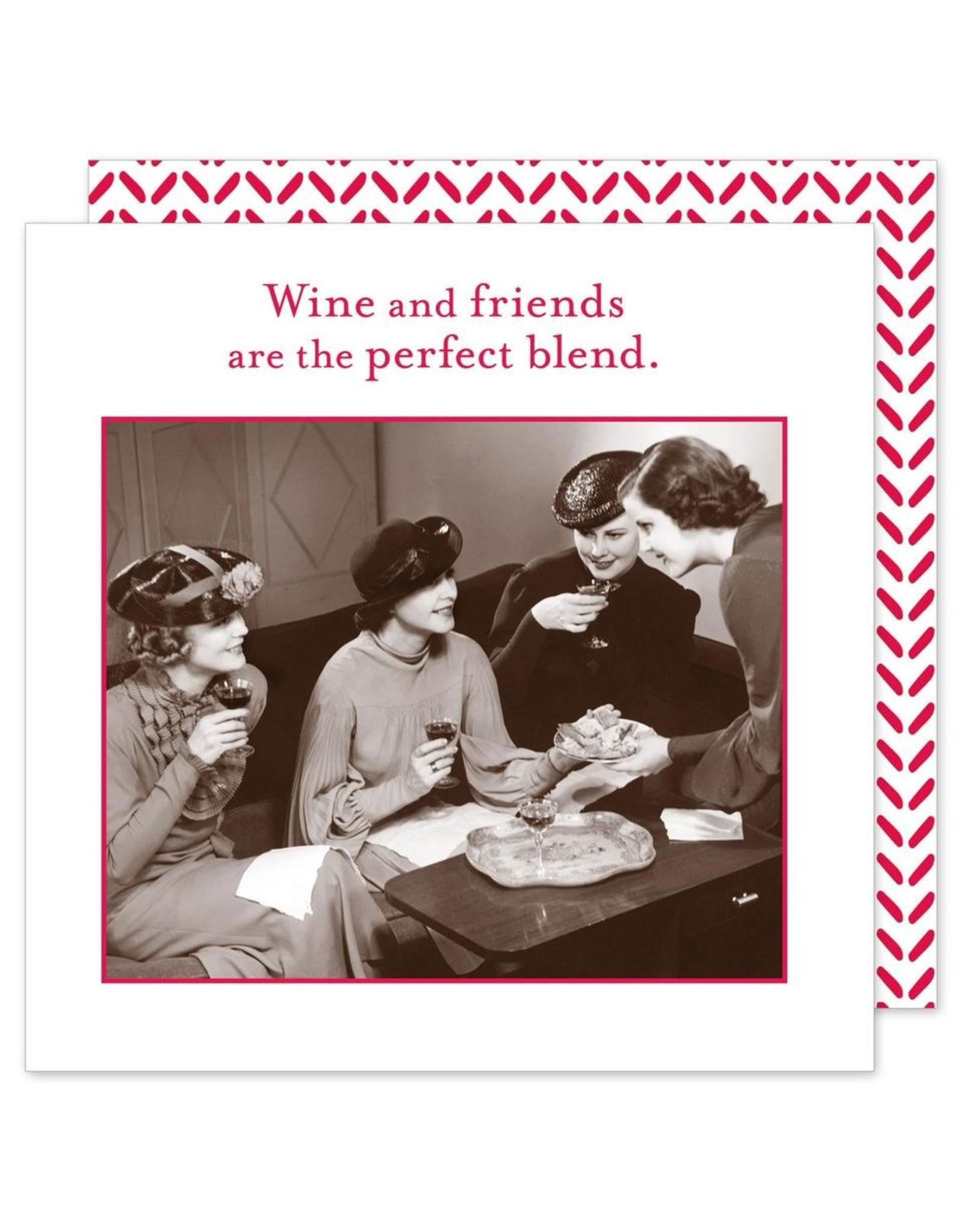 Shannon Martin Wine and Friends Napkins
