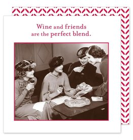 Shannon Martin Wine and Friends Napkins