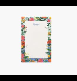Orangerie Unlined Notepad
