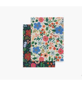 Wild Rose Sm Pocket Notebooks, Set of 2