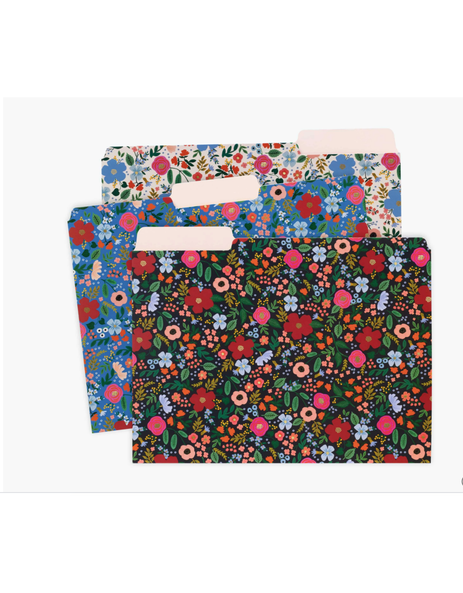 Wild Rose File Folder, Set of 6