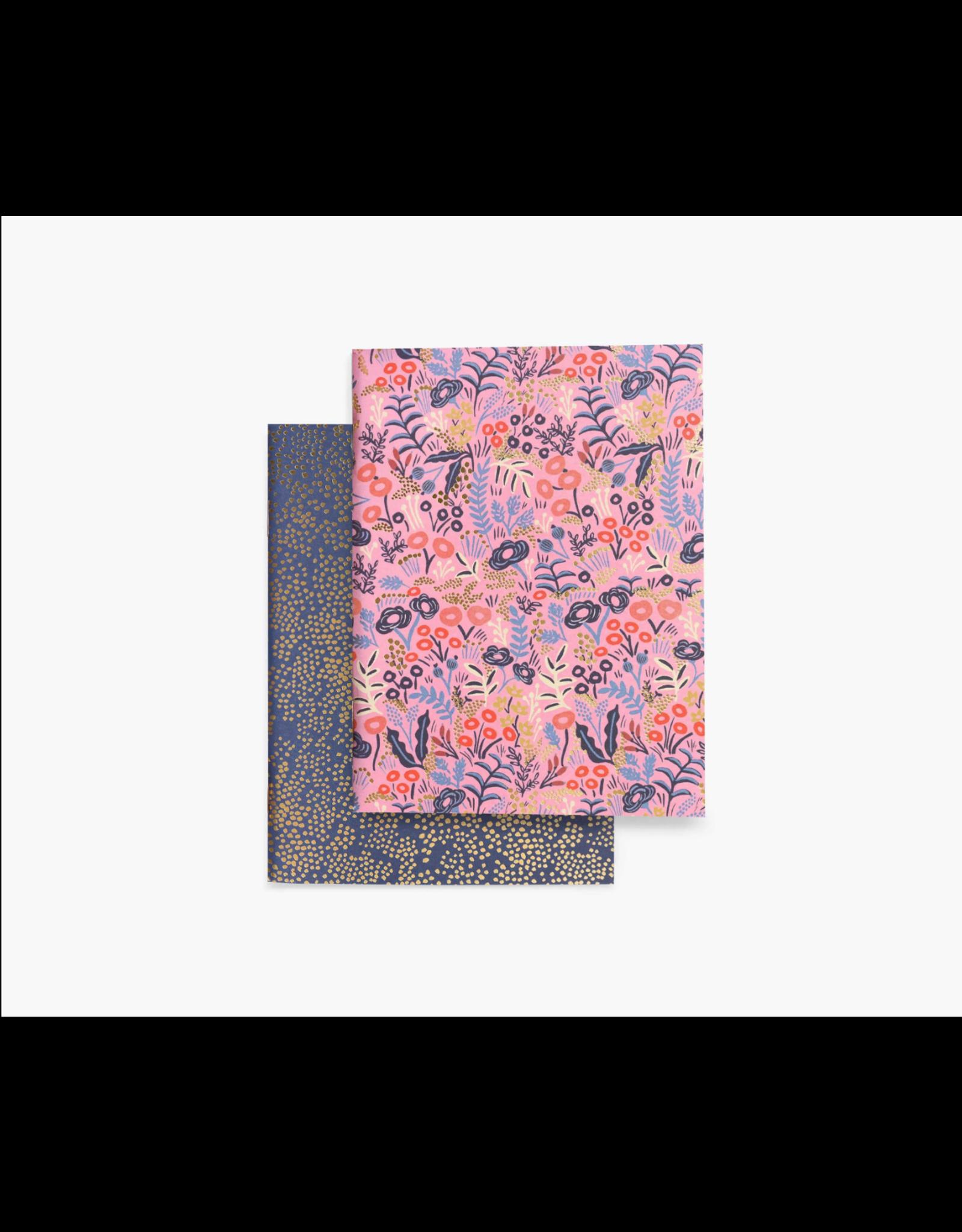 Pair of Tapestry Pocket Notebooks
