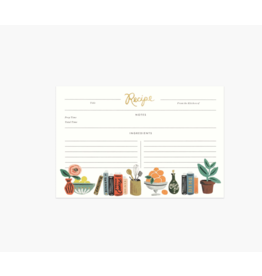 Kitchen Shelf Recipe Cards, Pack of 12