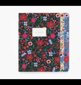 Wild Rose Notebooks, Set of 3
