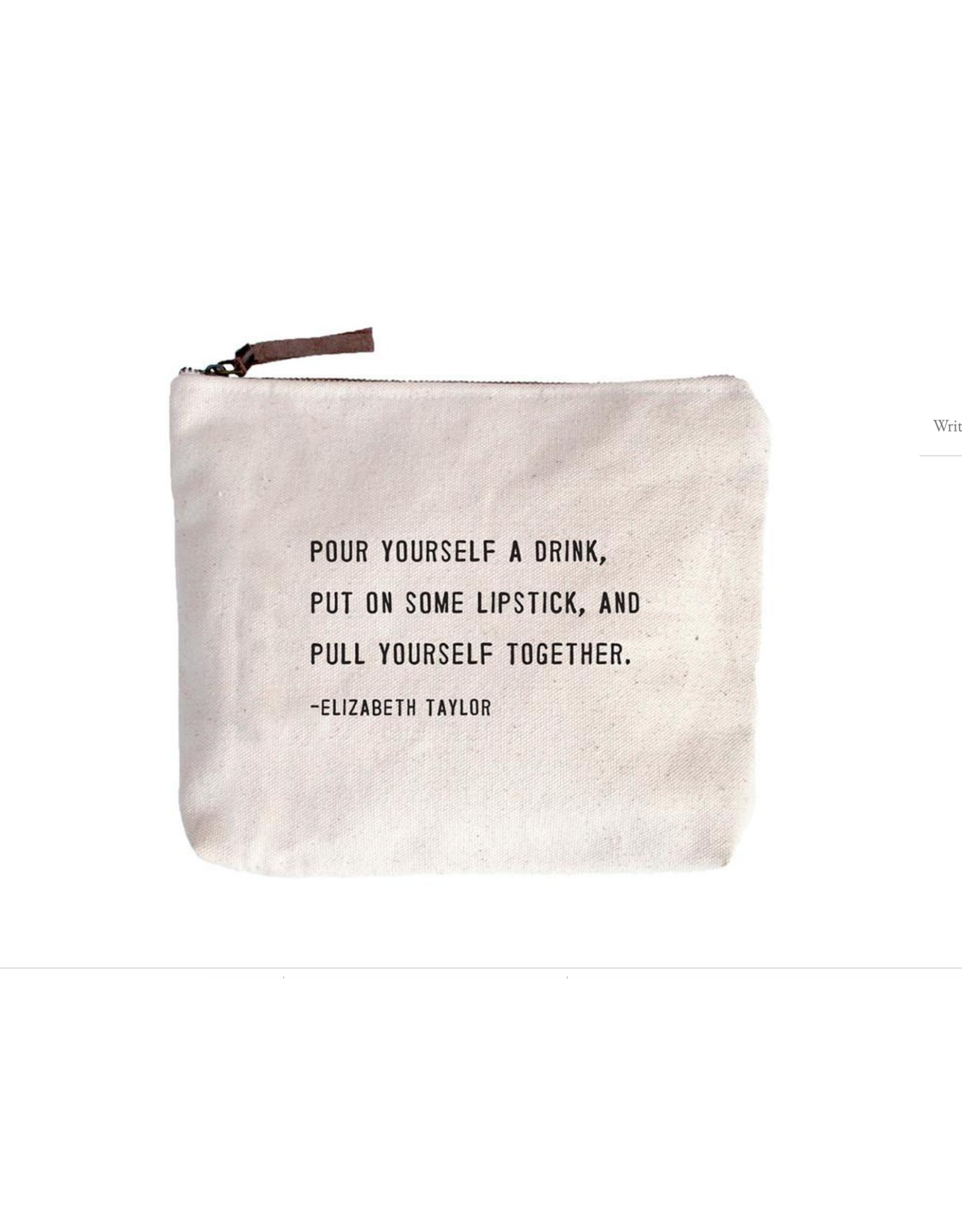 Canvas Bag, Pull Yourself Together