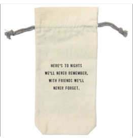 Wine Bag, Here's to the Nights