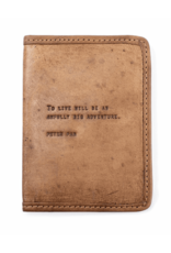 Leather Passport Cover, Peter Pan