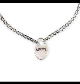 Small Heart Pendant (Always) Bracelet