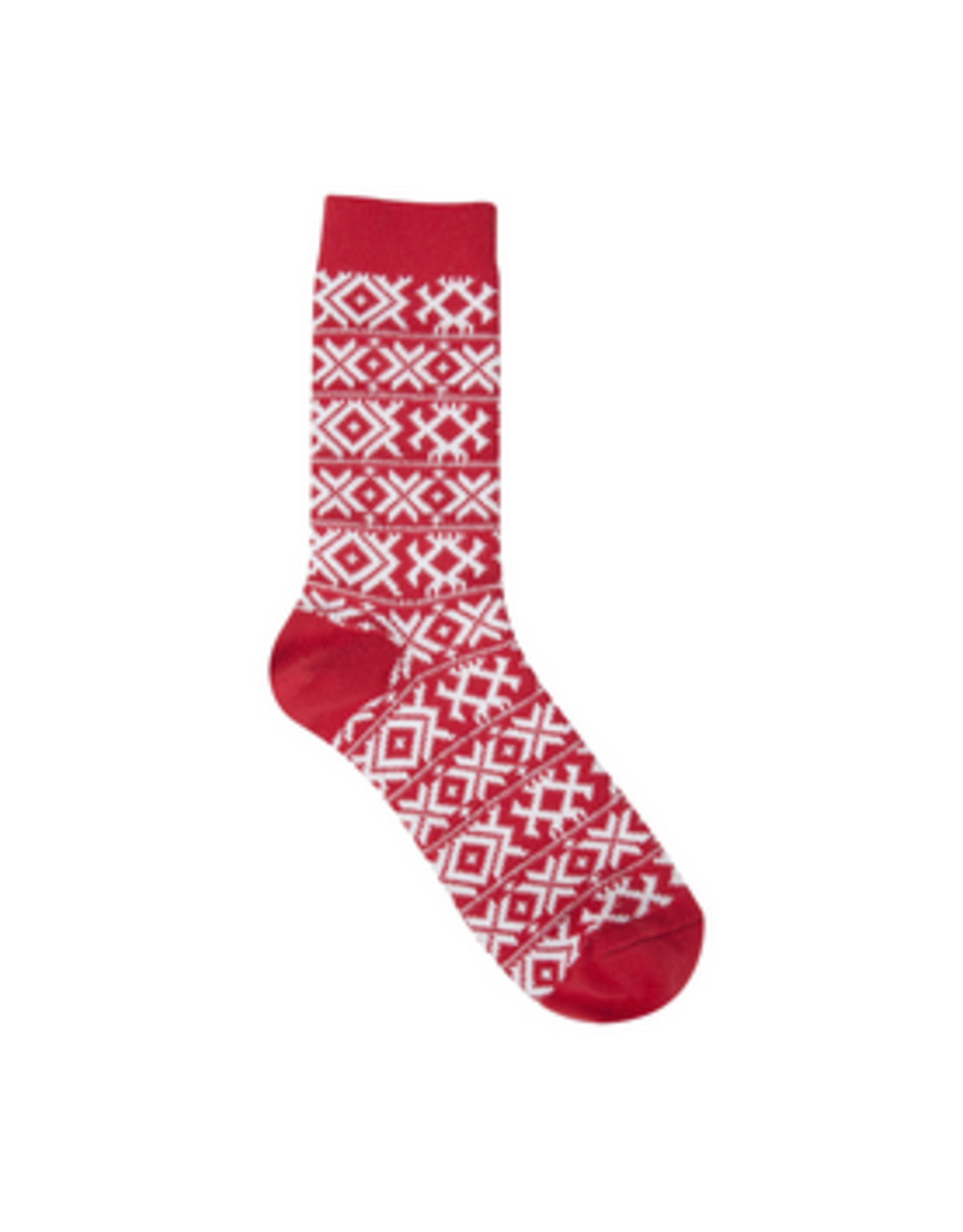 Gallery XOXO Crew Socks, red hot